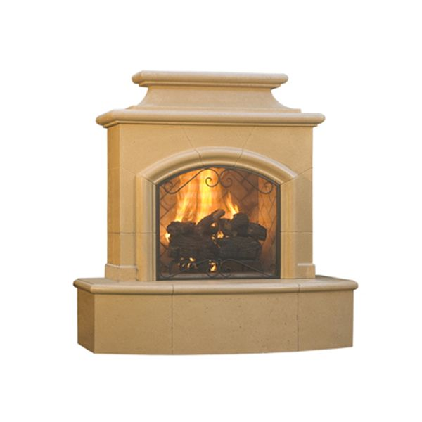 Mariposa Vent Free Outdoor Gas Fireplace image number 1