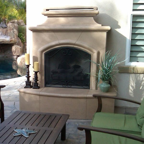 Mariposa Vent Free Outdoor Gas Fireplace image number 0