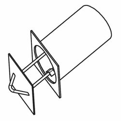 "Mason-Lite 4"" Combustion Air Kit"