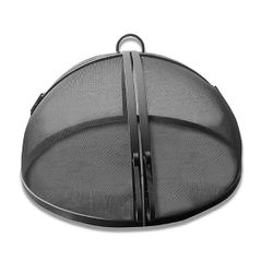 Master Flame Hinged Round Fire Pit Screen