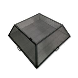 Master Flame Hinged Square Fire Pit Screen