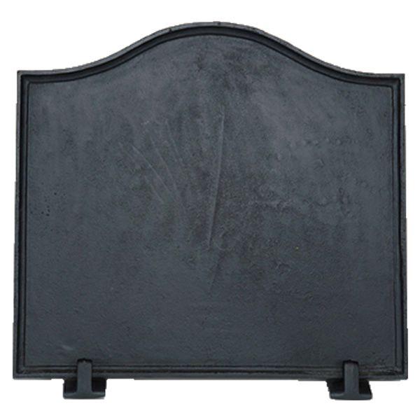 Black Cast Iron Fireback - Medium image number 0