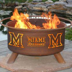 Miami of Ohio Wood Burning Fire Pit