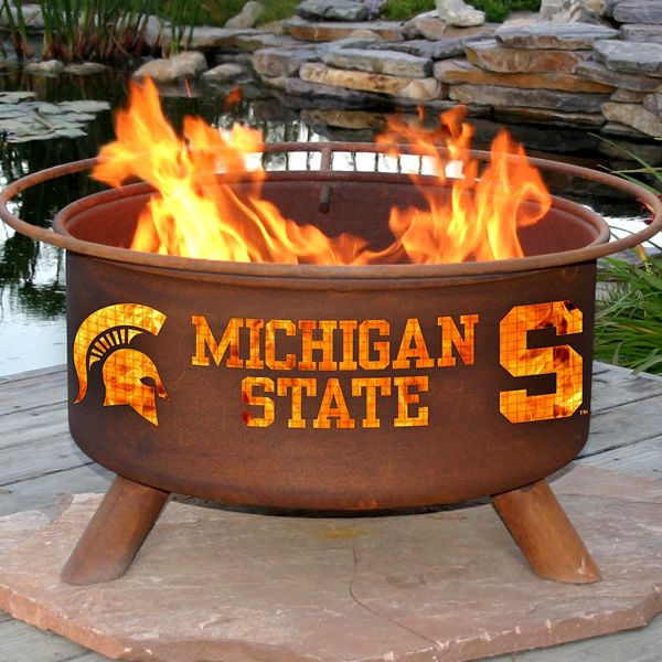Michigan State Fire Pit image number 1