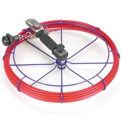 HandyViper Chimney Cleaning System - 50' Coiled Rod