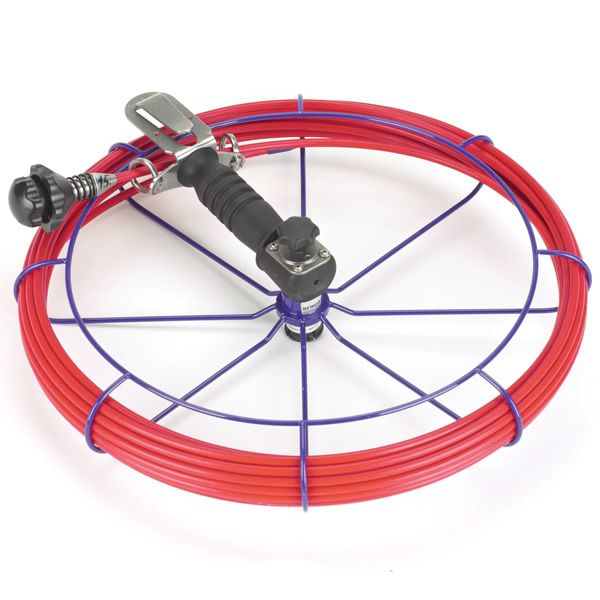 HandyViper Chimney Cleaning System - 50' Coiled Rod image number 0