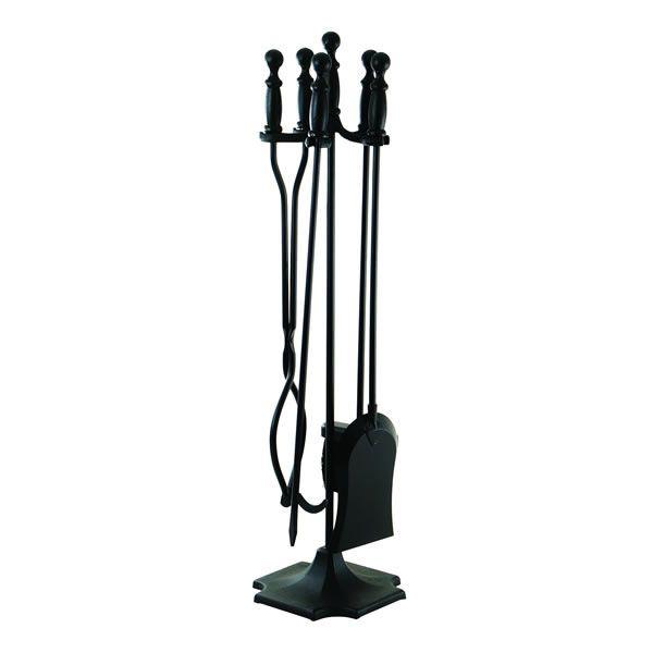 Minuteman Black 4 Piece Fire Tool Set image number 0