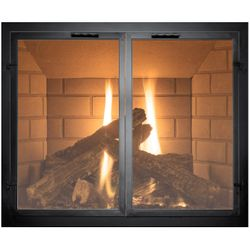 Normandy Masonry Fireplace Door