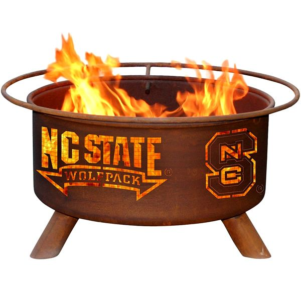 North Carolina State Fire Pit image number 0