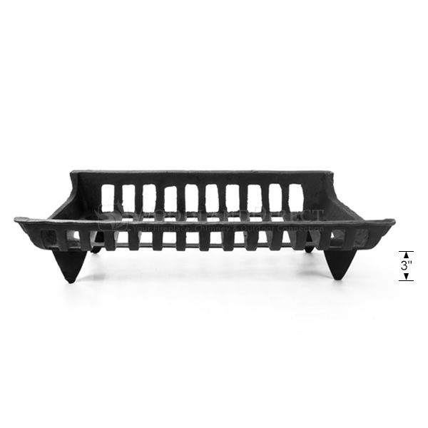 """Northern Flame Cast Iron Fireplace Grate - 24"""" image number 2"""