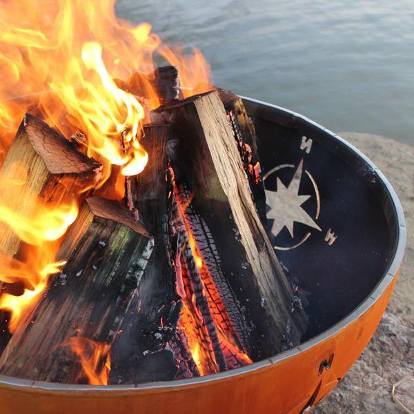 Navigator Wood Burning Fire Pit image number 2