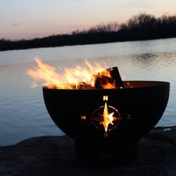 Navigator Wood Burning Fire Pit