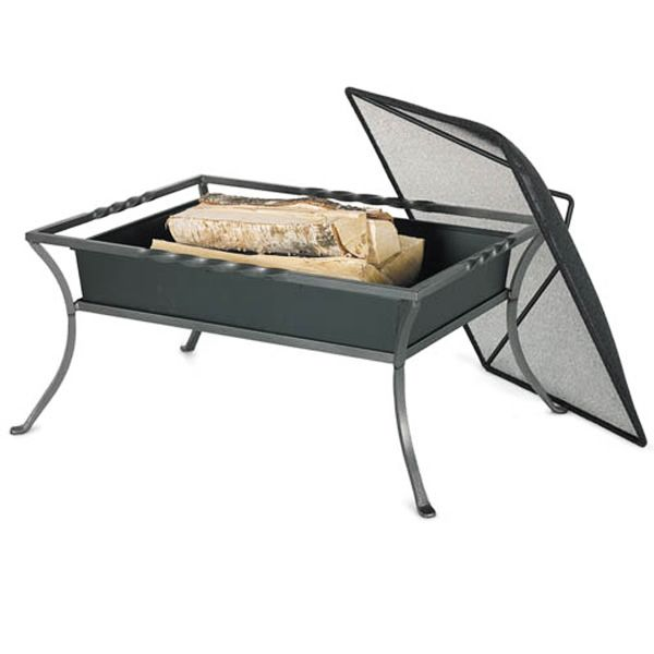 Napa Wood Burning Fire Pit with Cover image number 0