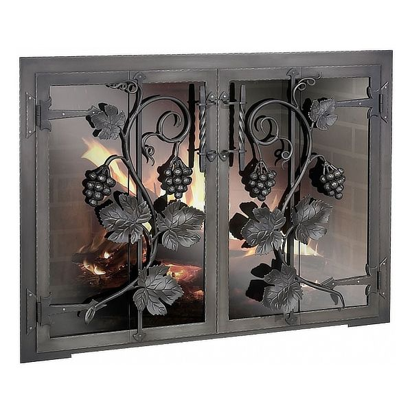 Napa Valley ZC Fireplace Glass Door image number 0