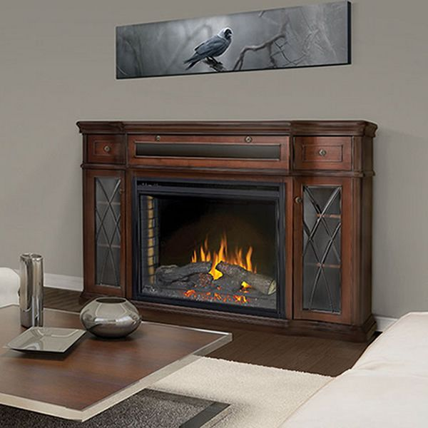 """Napoleon 33"""" Ascent Electric Fireplace with Colbert Mantel image number 0"""