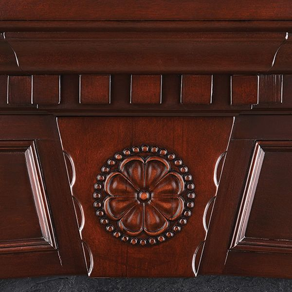 """Napoleon 33"""" Ascent Electric Fireplace with Harlow Mantel image number 4"""