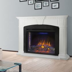 "Napoleon 33"" Ascent Electric Fireplace with Taylor Mantel"