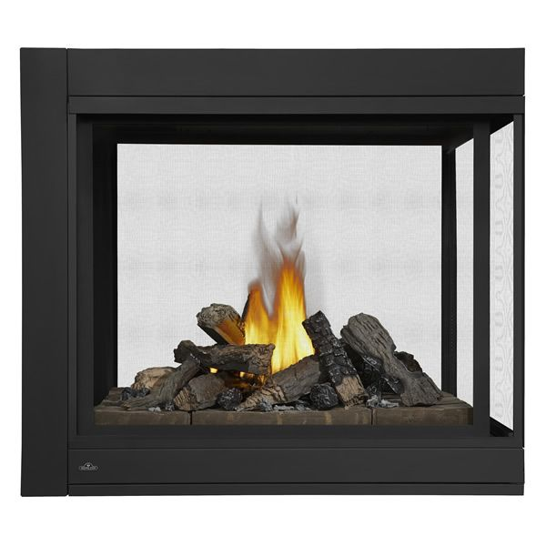 Napoleon BHD4P Peninsula Direct Vent Gas Fireplace with Logs image number 0