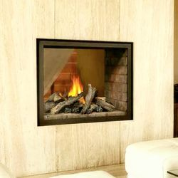 Napoleon BHD4ST See Through Direct Vent Gas Fireplace with Logs