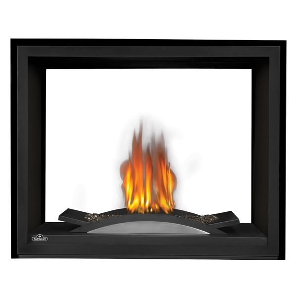 Napoleon BHD4STFC See Through DV Gas Fireplace w/Fire Cradle image number 0