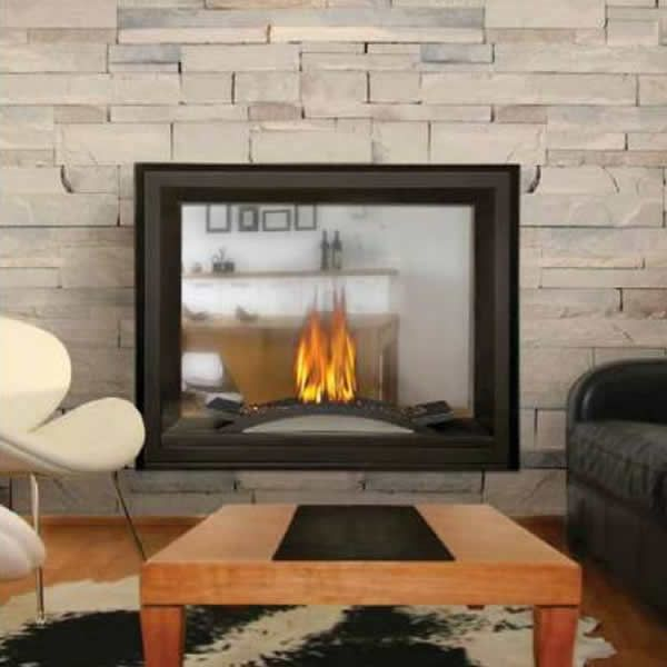 Napoleon BHD4STFC See Through Direct Vent Gas Fireplace with Fire Cradle image number 0
