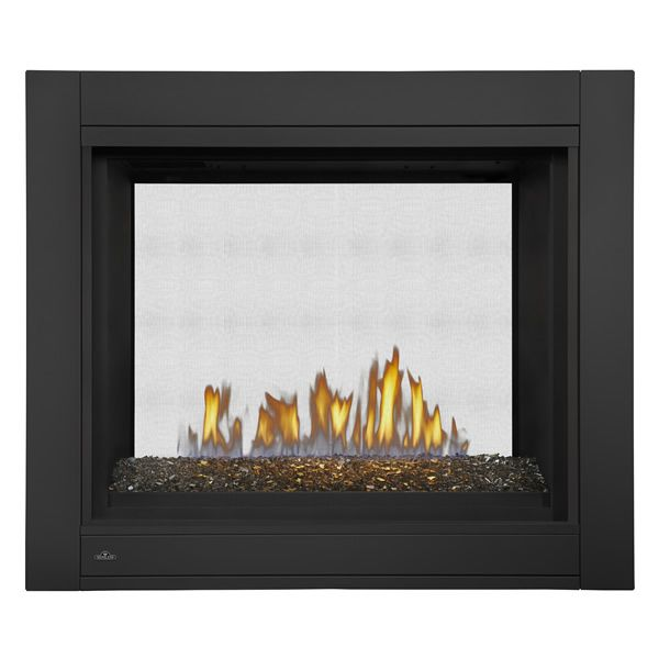 Napoleon BHD4STG See Through Direct Vent Gas Fireplace with Fire Glass image number 0