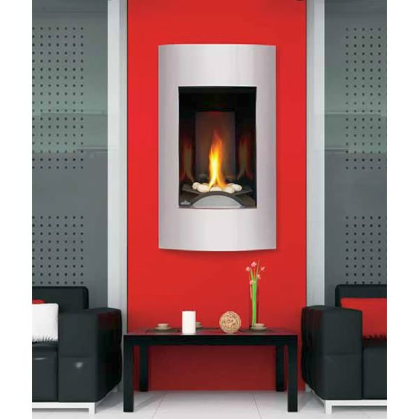 Napoleon GD19 Vittoria Direct Vent Gas Fireplace with Rocks image number 0
