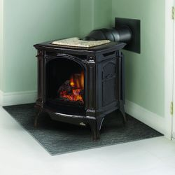 Napoleon GDS20 Arlington Direct Vent Gas Stove - Majolica Brown