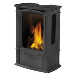 Napoleon GDS26 Castlemore Direct Vent Cast Iron Gas Stove - Black