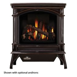 Napoleon GDS60 Knightsbridge Direct Vent Gas Stove - Majolica Brown