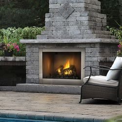 Napoleon GSS42CF Riverside 42 Clean Face Outdoor Fireplace