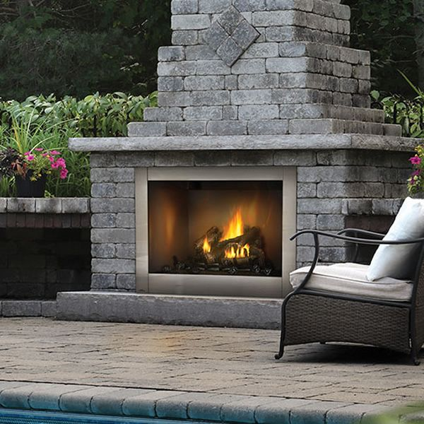 Napoleon GSS42CF Riverside 42 Clean Face Outdoor Fireplace image number 0