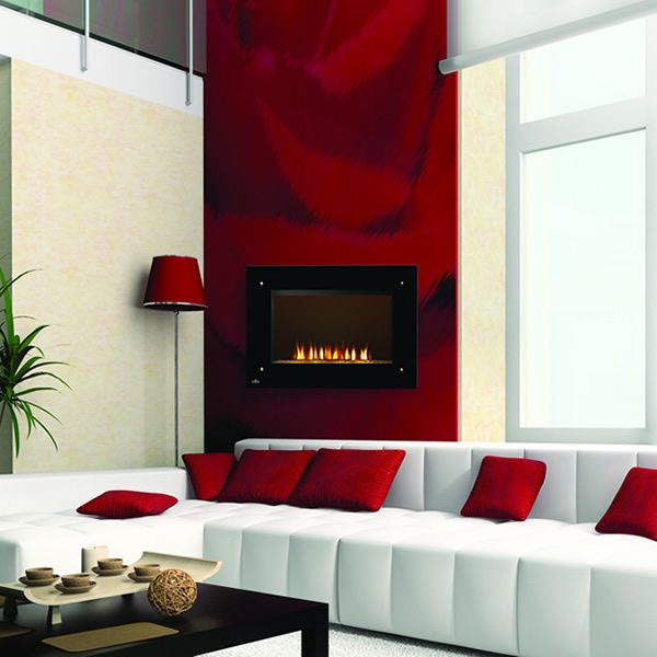 """Napoleon Tranquil Frameless Electric Fireplace Scene - 39"""" image number 1"""