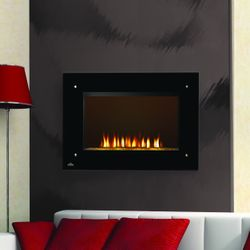"Napoleon 39"" Tranquil Frameless Electric Fireplace Scene"
