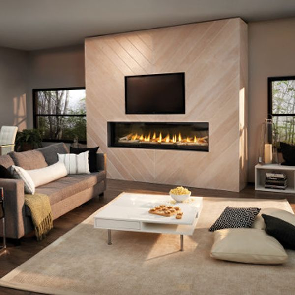 Napoleon LVX74 Luxuria 74 Direct Vent Gas Fireplace image number 0