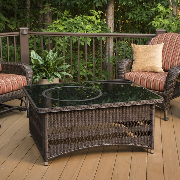 Naples Gas Fire Pit Table image number 1