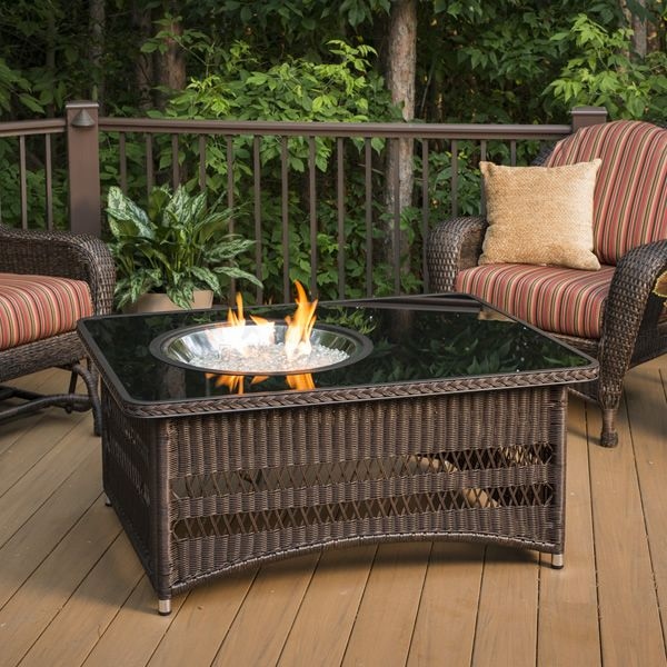 Naples Gas Fire Pit Table image number 0
