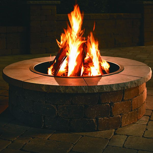 Necessories Grand Fire Ring Limestone Cap image number 0