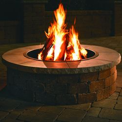 Necessories Grand Fire Ring Limestone Cap