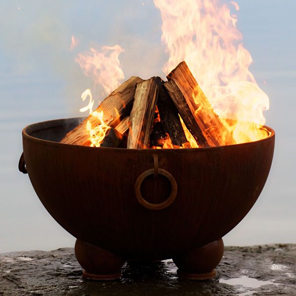 Nepal Wood Burning Fire Pit image number 0