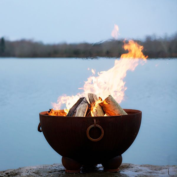 Nepal Wood Burning Fire Pit image number 1