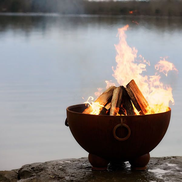 Nepal Wood Burning Fire Pit image number 2