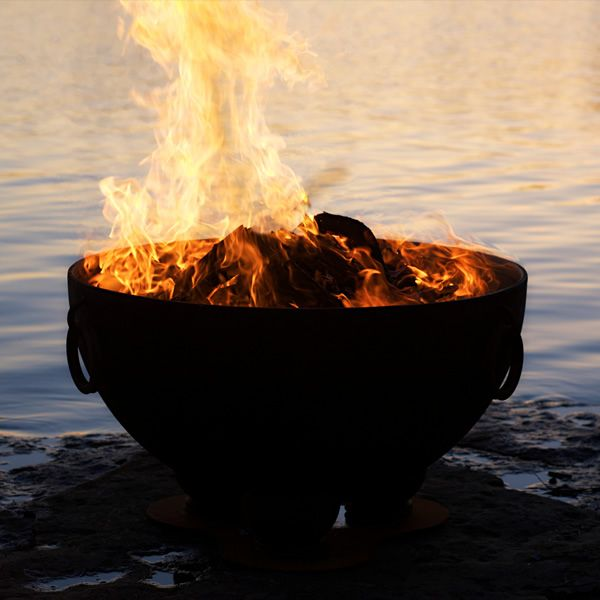 Nepal Wood Burning Fire Pit image number 7