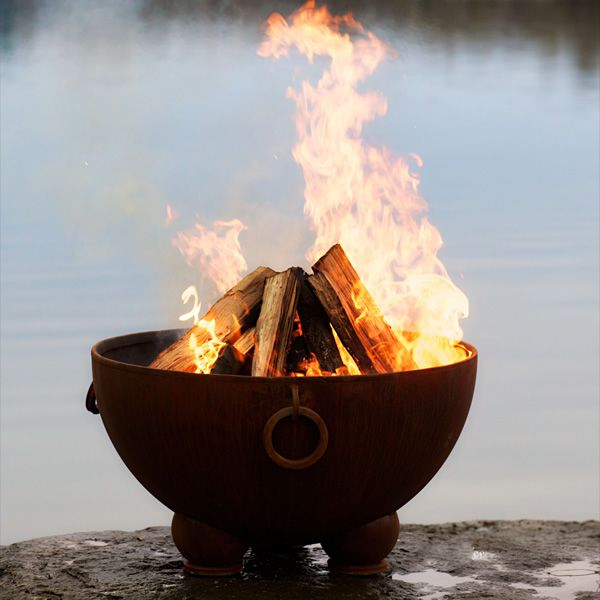 Nepal Wood Burning Fire Pit image number 9
