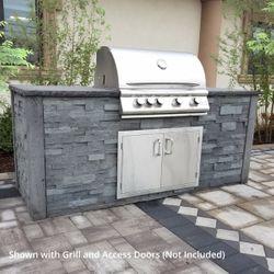 Nicolock Nantucket Outdoor Kitchen - No Cutouts