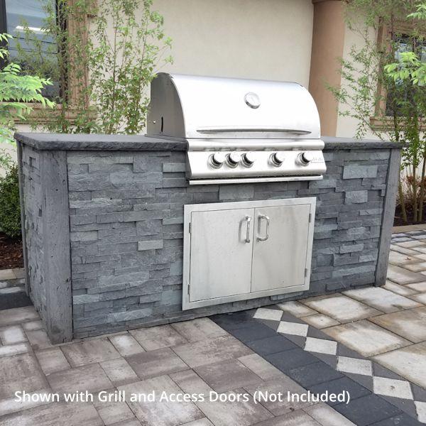 Nicolock Nantucket Outdoor Kitchen - No Cutouts image number 0