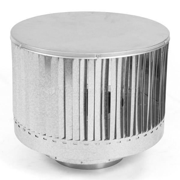 "8"" Diameter Monessen SK8 Round Louvered Termination image number 0"