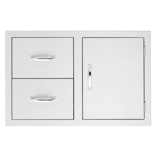 "Summerset 30"" 2-Drawer & Access Door Combo image number 0"