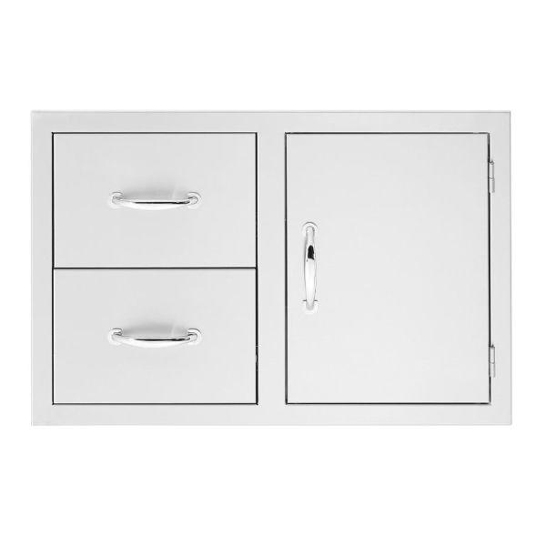 """Summerset 36"""" 2-Drawer & Access Door Combo image number 0"""