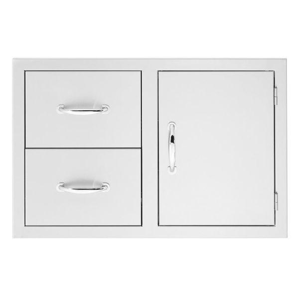 """Summerset 42"""" 2-Drawer & Access Door Combo image number 0"""